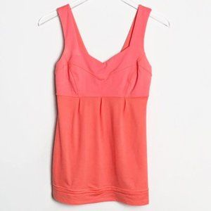 Lululemon | Tame Me Tank Top Neon Pop Orange